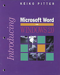 Introducing Microsoft Word for Windows 2.0