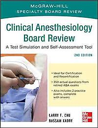 Mcgraw-hill Clinical Anesthesiology Board Review