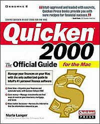 Quicken 2000 for the Mac
