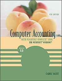 Computer Accounting With Peachtree Complete 2004 For Microsoft Windows