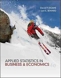 Applied Statistics in Business and Economics + Connect Plus