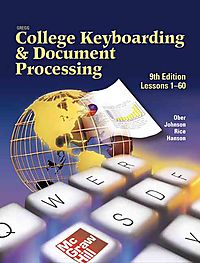 Gregg College Keyboarding and Document Processing