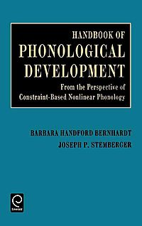 Handbook of Phonological Development