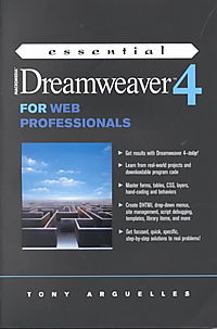 Essential Macromedia Dreamweaver 4 for Web Professionals