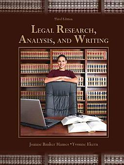 legal research analysis and writing Chapter 4 case law—research and briefing 105 i introduction the focus of this chapter is on court opinions—their elements, where they are published.