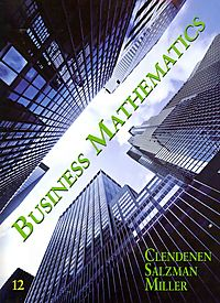 Business Mathematics + MathXL Student Access Code