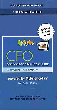 Corporate Finance Online Access Code