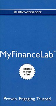Corporate Finance MyFinanceLab Access Card