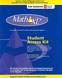 MathXL Printed Access Code