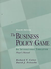 The Business Policy Game