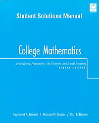 Student Solutions Manual to College Math & Business Accounting