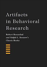 Artifacts in Behavioral Research