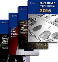 Blackstone's Police Manuals 2015 Set