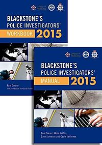 Blackstone's Police Investigators' Manual 2015 + Workbook