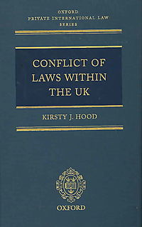 Conflict of Laws Within the Uk