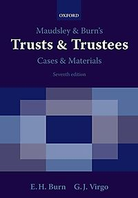 Maudsley and Burn's Trusts and Trustees