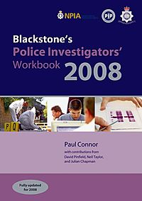 Blackstone's Police Investigators' Workbook 2008