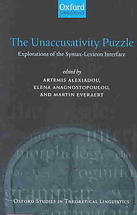 The Unaccusativity Puzzle