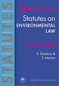 Statutes On Environmental Law