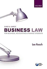 Card & James' Business Law for Business, Accounting, and Finance Students