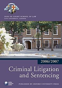 Criminal Litigation and Sentencing 2006-2007
