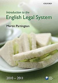 Introduction to the English Legal System