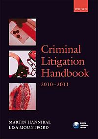 Criminal Litigation Handbook 2010-2011