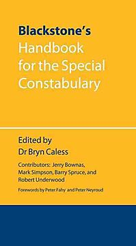 Blackstone's Handbook for the Special Constabulary