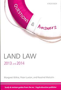 Questions & Answers Land Law 2013 and 2014