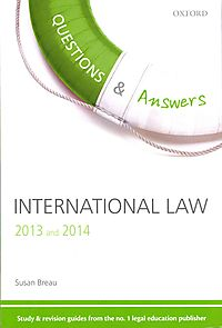Questions & Answers International Law 2013 and 2014