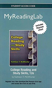 College Reading and Study Skills MyReadingLab Access Card