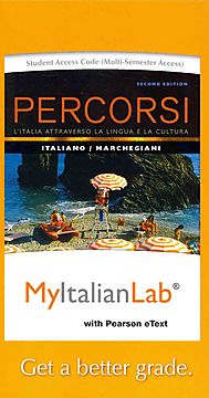 Percorsi Myitalianlab Access Card