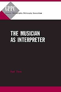 The Musician As Interpreter