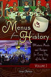 Menus from History