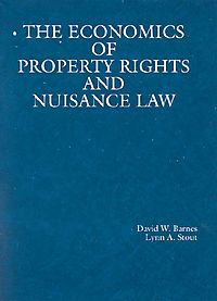 The Economics of Property Rights and Nuisance Law