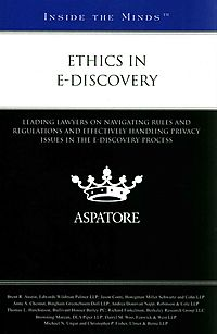 Ethics in e-Discovery