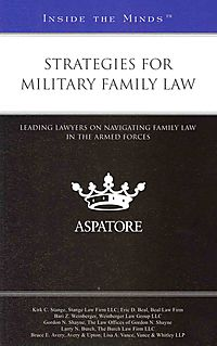 Strategies for Military Family Law