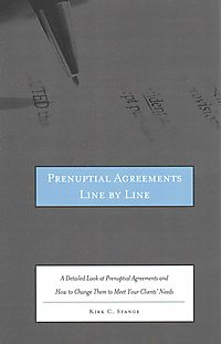 Prenuptial Agreements Line by Line