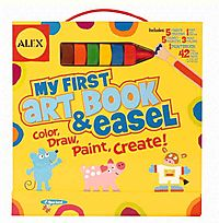 My First Art Book & Easel