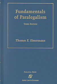 Fundamentals of Paralegalism