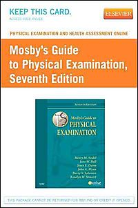New used books cheap books online half price books physical examination and health assessment online for mosbys guide to physical examination fandeluxe Gallery