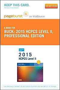 2015 HCPCS Level II Professional Edition - Pageburst E-Book on VitalSource