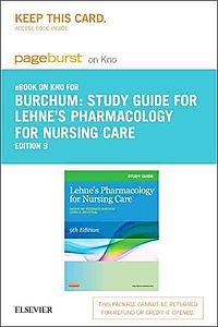 Lehne's Pharmacology for Nursing Care Pageburst E-book on Kno Retail Access Card