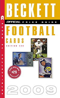 The Official Price Guide to Football Cards 2009