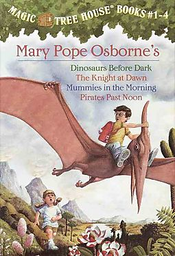 Magic Tree House, Books 1-4