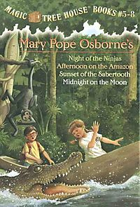 Magic Tree House Books 5-8