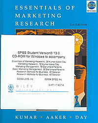 Essentials of Marketing Research + Spss 13.0