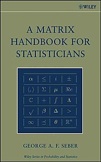 A Matrix Handbook for Statisticians