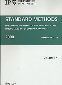 Standard Methods for Analysis and Testing of Petroleum and Related Products and British Standard 2000 Parts 2000