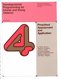 Developmental Programming for Infants and Young Children Volumes 4 & 5